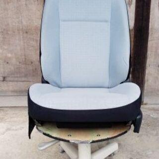 【値下げしました】車のシートと椅子を加工してみました
