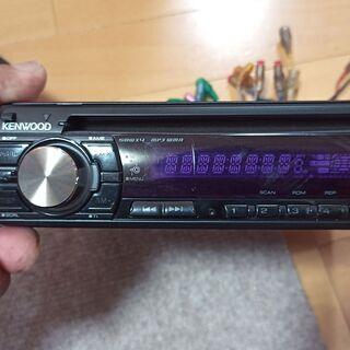 カーステレオ kenwood E242 mp3 wma AUX