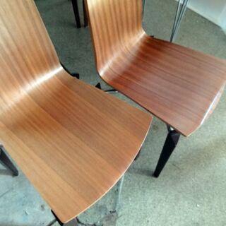 AD CORE (エーディコア) ダイニングテーブル チェルボシリーズチェアー4脚セット CERVO 札幌市白石区引取りOK - 家具
