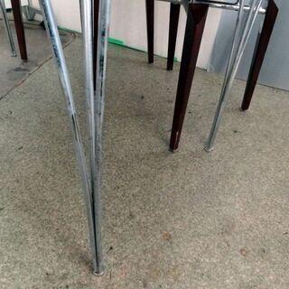 AD CORE (エーディコア) ダイニングテーブル チェルボシリーズチェアー4脚セット CERVO 札幌市白石区引取りOK - 売ります・あげます