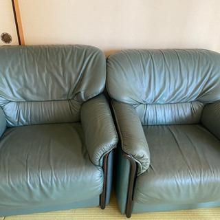 1人用ソファー使用感ありますが座り心地は最高!