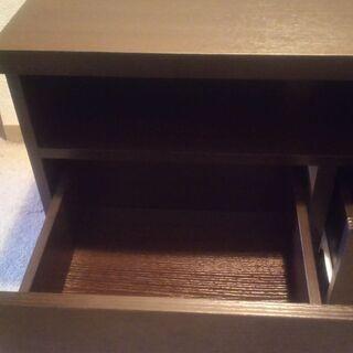 【ネット決済】ブラウンのテレビボード