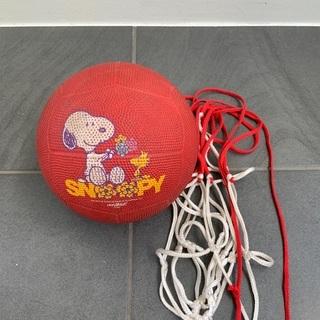 モルテン ドッジボール スヌーピー SNOOPY 赤 ボール