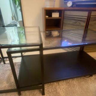 無料)ガラステーブル