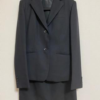 リクルートスーツ ブラック スカート パンツ ワイシャツセット