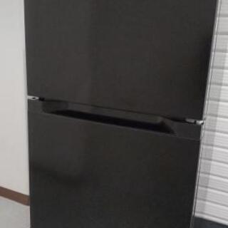 【2020年美品!】アイリスオーヤマ 87L小型冷凍冷蔵庫 ブラック【配達出来ます!】   の画像