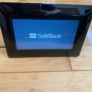SoftBank フォトフレーム 黒の画像