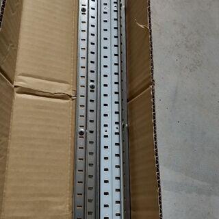 スガツネ 棚柱 sp-2600 8本 棚受け付