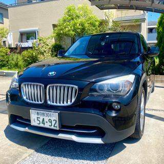 """大人気の""""BMW X1""""最上級グレード 大得価 美車 低走…"""