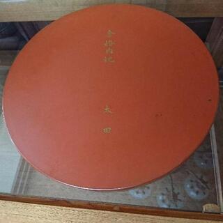 塗り 丸盆 直径35cm - 名古屋市