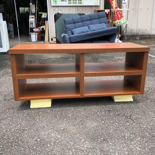 テレビボード‼️木製✨ブラウン✨収納棚