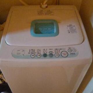 洗濯機差しあげます 0円の画像