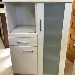 NITORI/ニトリ レンジボード 食器棚 WH ロータイプ【ユ...