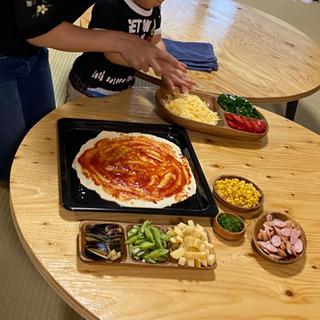 ★親子で参加★ 自家菜園🍅🍆🥒で具沢山なピザ作り♪♪