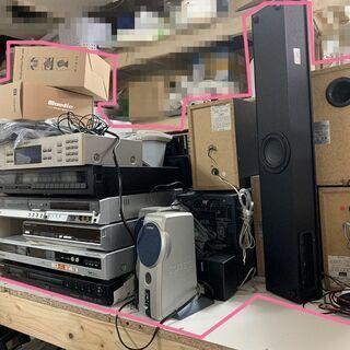 DVD,スピーカー、新品ヘッドフォンなどまとめ売り何種類何…