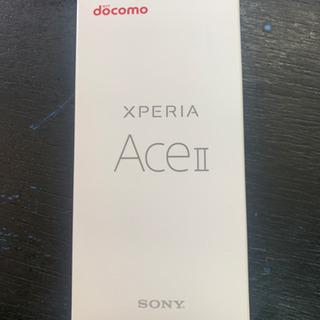 新品 SONY シムフリー Xperia ACEⅡ ホワイ…