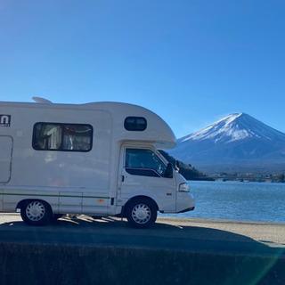 【24時間無人貸出】ペットOK旅行イベントに!キャンピングカーの...