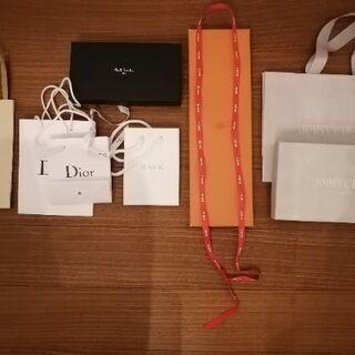 ブランド紙袋·空き箱·布袋