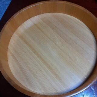 ヒノキの大きい飯切り コーティングあり - 家具