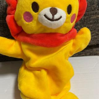 ライオンパペット人形