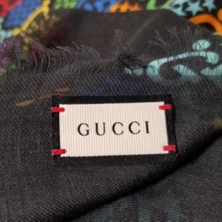 未使用本物新品 GUCCI GGサイケデリック シルク ストール スカーフ グッチ - 服/ファッション
