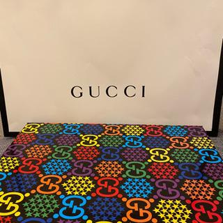 未使用本物新品 GUCCI GGサイケデリック シルク ストール スカーフ グッチ - 売ります・あげます