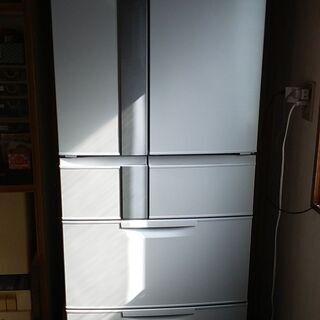 ◆ 《MITSUBISHI》・日本製・2014年製 ・ 形名 / MR-JX48LX  ●全体容量/475,冷蔵/325L,冷凍/150L。 の画像