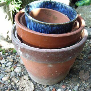 素焼き・陶器の鉢【詳細を読んでから問い合わせしてください】