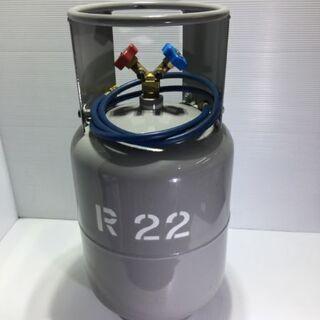未使用 アサダ フロン回収再生ボンベ(フロートセンサ付)24リットル