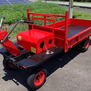 三菱タナカ4輪運搬車‼️・最大積載量500kg・田畑・果樹園・農業機械