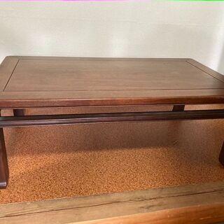 【昭和レトロ】けやきを使った座卓 ローテーブル