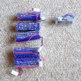 火災警報器用 リチウムイオン電池 6個
