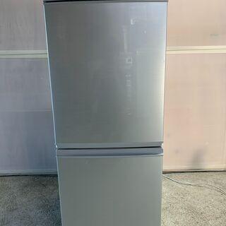 SHARP 2ドア冷蔵庫 SHARP 2ドア冷蔵庫 SJ-D14B-S 2015年製 通電確認済み 早いもの勝ち! 配送OKの画像
