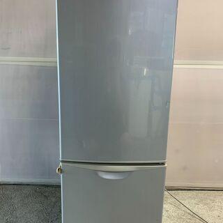 【無料】National 2ドア冷蔵庫 NR-B162J-S 2004年製 無料! 0円!早いもの勝ち 通電確認済み 配送OKの画像