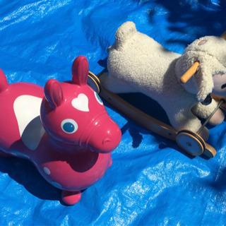 乗り物遊具 2点セット ロディ 羊
