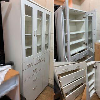 たくさん収納棚 食器棚 Z186