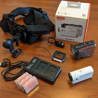 【大幅値下げ】SONY HDR-AS300セット/アクションカメ...