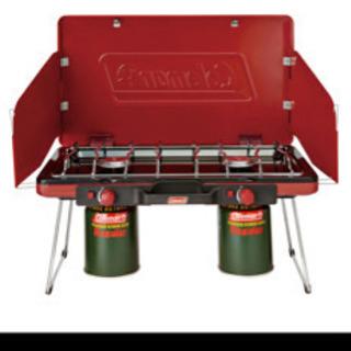 Coleman 2バーナー +調理台 キャンプ用品