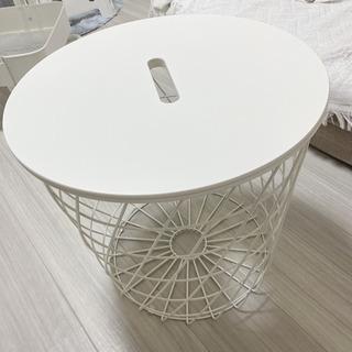 IKEA テーブル クヴィストブロー 白