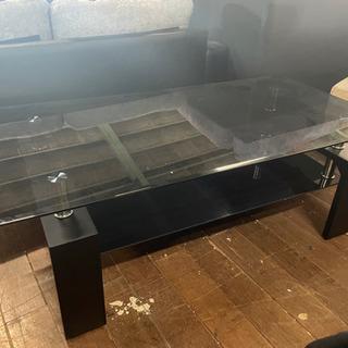 センターテーブル!ブラック色