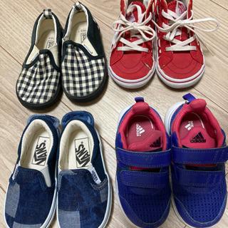 【ネット決済】子ども靴 14センチ 4足