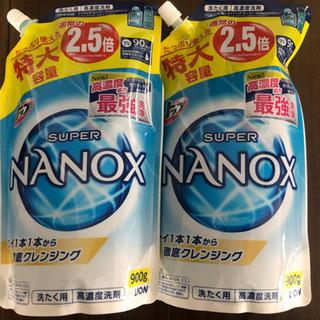【大容量】トップスーパーナノックス 洗濯洗剤 詰め替え 900g