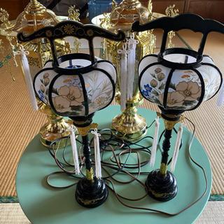 灯籠 飾り物 電気コンセント
