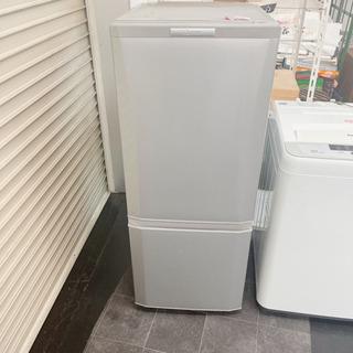 💛三菱 ノンフロン冷凍冷蔵庫 MR-P15Y-S形 2015年製