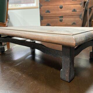 木製の花台  - 家具