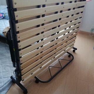 【ネット決済】セミダブルすのこベッド