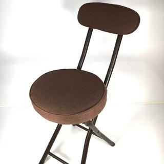 折り畳み 丸椅子 の画像
