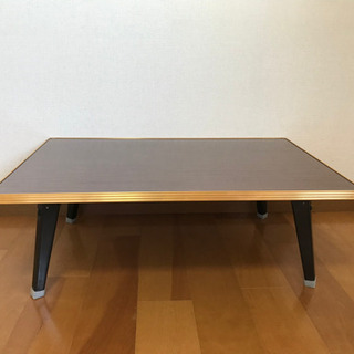 ローテーブル折りたたみ式幅90㎝(3台あり)