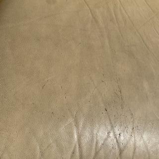 詳細不明 アイボリー 3人がけソファー − 福井県