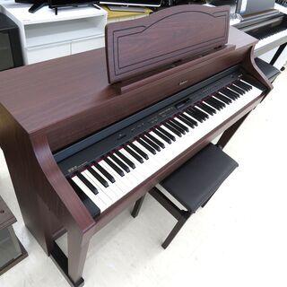 北海道/千歳市 Roland/ローランド 電子ピアノ HP507-GP 2012年製 88鍵盤 椅子付属 近郊配送/店頭でのお受渡し大歓迎 - 千歳市